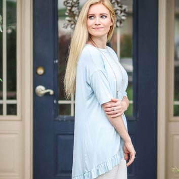 Beguiled in Blue Top