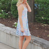 Cornflower Wonderland Dress