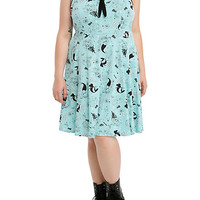 Disney The Little Mermaid Sailor Dress Plus Size