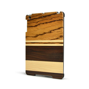 Wood iPad Mini Case - Mixed Wooden iPad Mini Cases - Maple