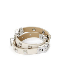 BCBG Icon-Studded Wrap Bracelet