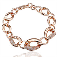 Anna Queen Rose Gold Plated Bracelet