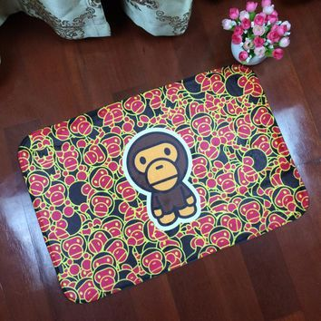 spbest Bape Bathroom Decor Carpet Mats