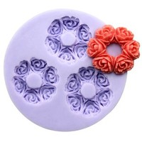 Longzang F0175 Fondant Silicone Sugar Craft Mold, Mini