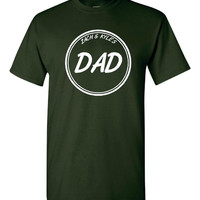 Personalized Dad T Shirt Your Childs Names Makes FANTASTIC gift All Colors And Sizes Up to 4XL