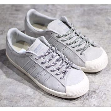 Adidas Originals Halfshell 80s Woman Men Fashion Old Skool Sport Shoes