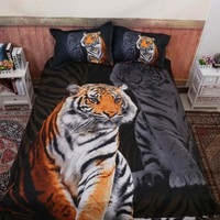 Animal 3D Tiger Comforter Bedding Sets King Twin Queen Size Family Bed Cover Linen Luxury Duvet Cover Set Bed Sheets Bedspread