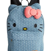 Hello Kitty Denim Backpack