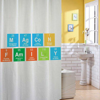 magcon family shower curtain