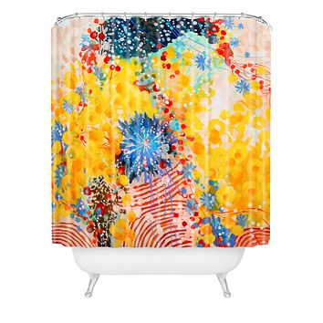 Stephanie Corfee 3 Ring Circus Shower Curtain