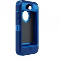 OtterBox Defender Series Hybrid Case & Holster for iPhone 4 & 4S - Retail Packaging - Ocean/Night Blue:Amazon:Cell Phones & Accessories