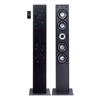 Craig Color-Changing Bluetooth Wireless Tower Speaker System CHT954 (Black)