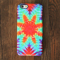 Vibrant Tie dye Pattern iPhone 6s Case/Plus/5S/5C/5/4S Protective Case #701