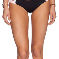 Lisa Lozano Sporty Hipster Bikini Bottom in Black