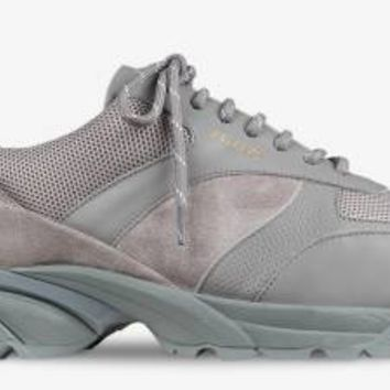 AXEL ARIGATO - Tech Runner Grey Leather