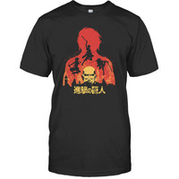 Attack on titan - TITAN - Men Short Sleeve T Shirt - SSID2016