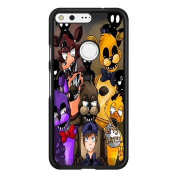 Five Nights At Freddys Fnaf And Friends Google Pixel Case