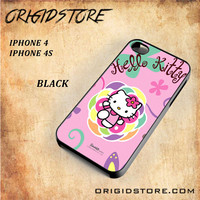 hello kitty 2 For Iphone 4 Case - Gift Present Multiple Choice