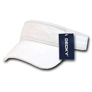 ICIKIJG Ponce Blank Decky Cotton Chino Twill Polo Visor Golf Tennis Sun Caps Hat
