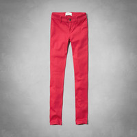 a&f hailey high rise jeggings