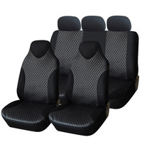 Furnistar 7-Piece Deluxe Leatherette Car Vehicle Protective Seat Covers