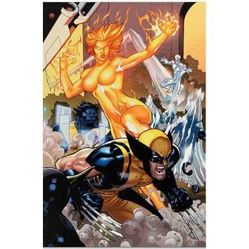 Secret Invasion: X-Men #4 - Limited Edition Giclee on Stretched Canvas by Terry Dodson and Marvel Comics