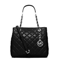 Susannah Small Leather Tote | Michael Kors