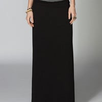 FULL TILT Fold Over Waist Maxi Skirt