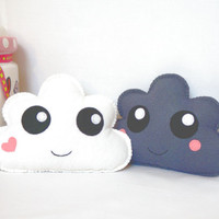 Kawaii Clouds - Cloud Soft Toys, set of two