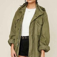 Urban Renewal Vintage Green Surplus Parka