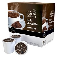 Café Escapes Dark Chocolate Hot Cocoa Keurig K-Cups-16 ct