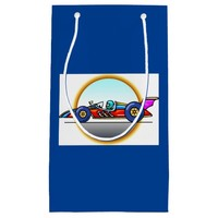 Racecar Race Car Birthday Gift Bag