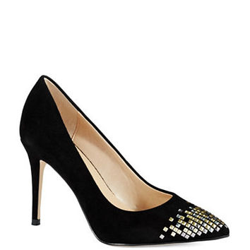 French Connection Elka Stud Accented Heels