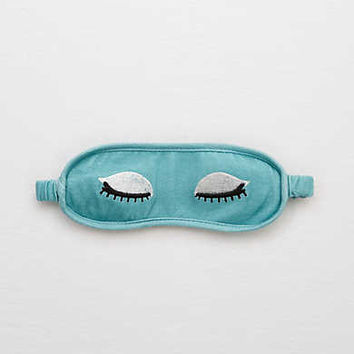 Aerie Dreamy Sleep Mask , Poet Blue