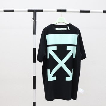 HCXX 19July 471 OFF WHITE 19SS Japanese limited short sleeve double-faced short sleeve t-shirts