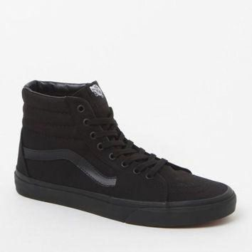 LMFON Vans Sk8-Hi Black Canvas Shoes at PacSun.com