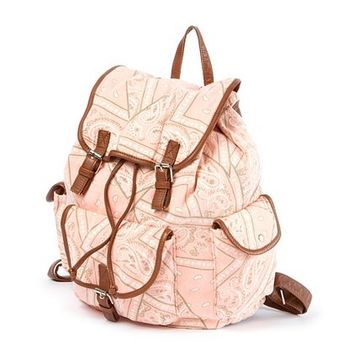 Bandana Print Backpack | Claire's