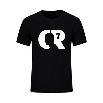2017 Summer World Cup Cristiano Ronaldo Men's T-Shirt CR7 Custom T Shirts Design Barcelona Cotton Tops Camiseta Masculina