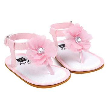 Summer New Baby Flower Pearl Sandals Children Shoes for Girls 20 710d7a8025