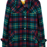 Javelin Wool Plaid Coat