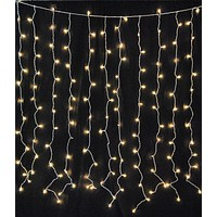 Incandescent Twinkle Light Curtain