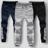 summer time male casual sweat pants