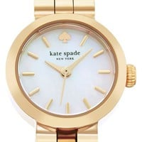 Women's kate spade new york 'tiny gramercy' bracelet watch, 20mm - Gold