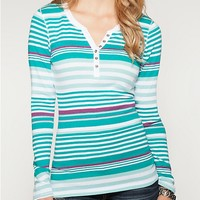 Multi Striped Henley | Long Sleeve | rue21