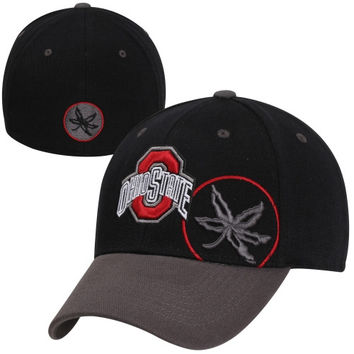 Top of the World Ohio State Buckeyes Idol One-Fit Flex Hat - Black