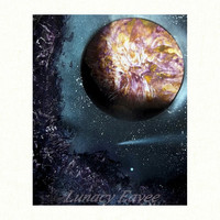 Yellow Art- Outer Space-Wall Art -Wall Decor -Astronomy Print - Gift For Nerds - 5 x 7 - 8 x 10 - Rock Art - Landscape Print - Nebula - Star
