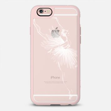 Latest Fashion Tech iPhone Case by Casetify | Odette Swan Lake Ballerina Design by Pointebrush (iPhone 6, 6s, 6 Plus, 6s Plus, 7)