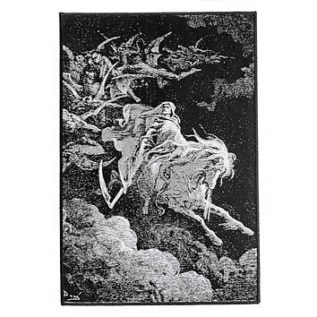 Death On A Pale Horse Large Back Patch