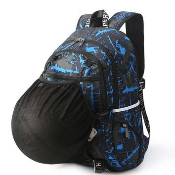 Sports gym bag Outdoor Men's Sports Gym Bags Basketball Backpack School Bags For Teenager Boys Soccer Ball Pack Laptop Bag Football XA760WD KO_5_1