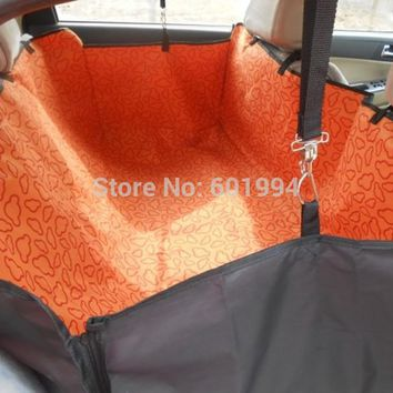 4 Colors New Dog Cat Car Seat Pet Cover Rear Back Seat Protector Waterproof Hammock